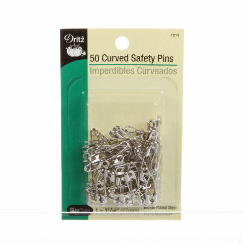 Curved Basting Pins size 1