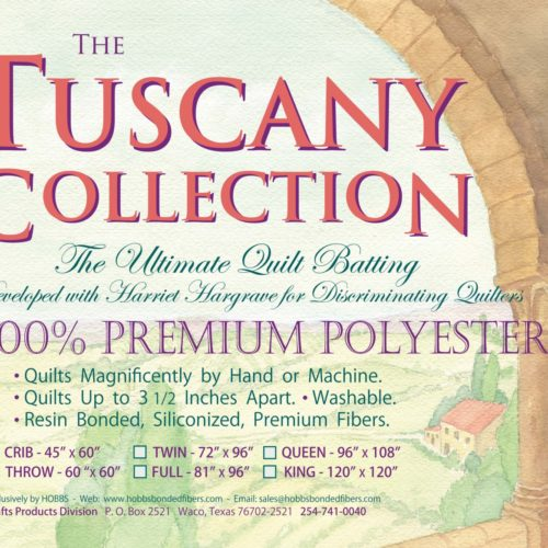 Hobbs Tuscany Collection Polyester Batting