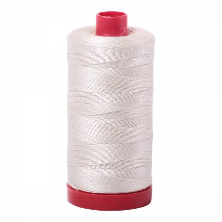Aurifil Mako Cotton Thread - 2309 Silver White