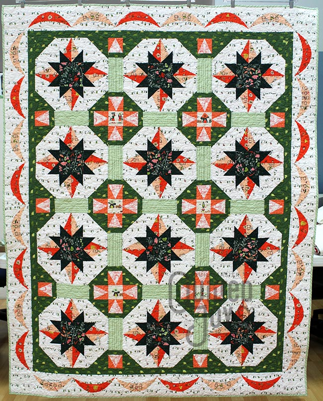 Angela Huffman's Forest Jubilee Quilt