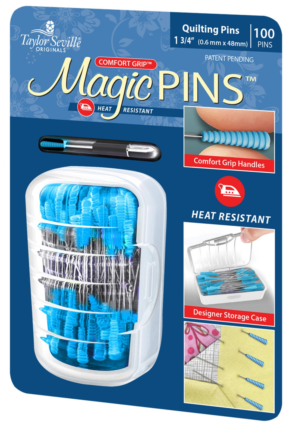 Magic Pins Quilting Pins 100ct