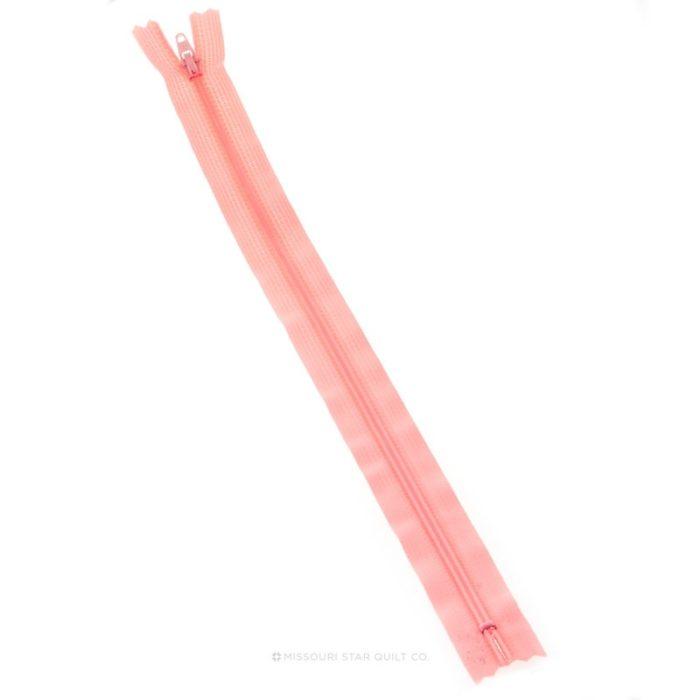 pink frosting zipper