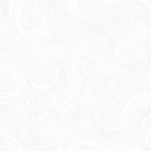 "Swirl 108"" Quilt Back - Pigment White"