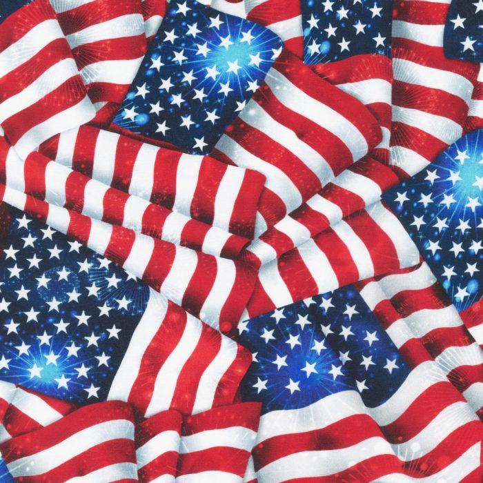 """Americana Patriots 108"""" Quilt Back"""