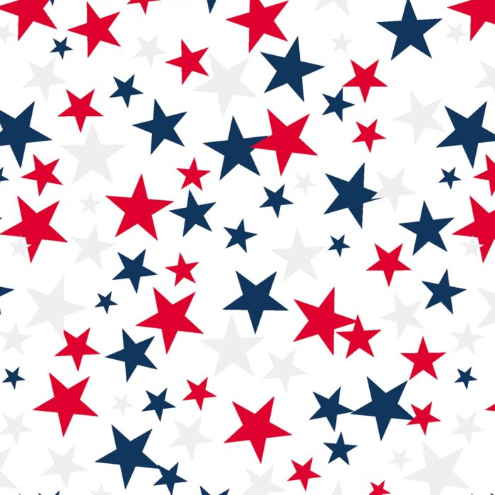 "Patriotic Stars 108"" Quilt Back From Quilted Joy"