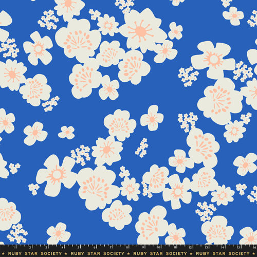 """Whatnot 108"""" Wide Hanna Wide Back Blue Ribbon by Ruby Star Society, available at Quilted Joy"""