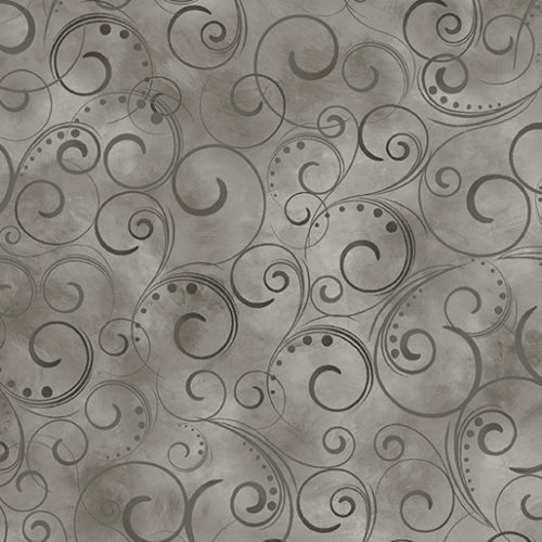 """Swirling Splendor 108"""" Wide Back Gray Smoke #9705W13B, available at Quilted Joy"""