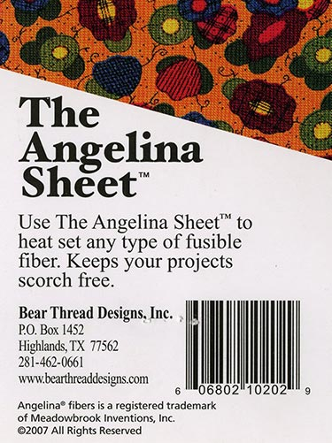 Angelina Pressing Sheet, available at Quilted Joy