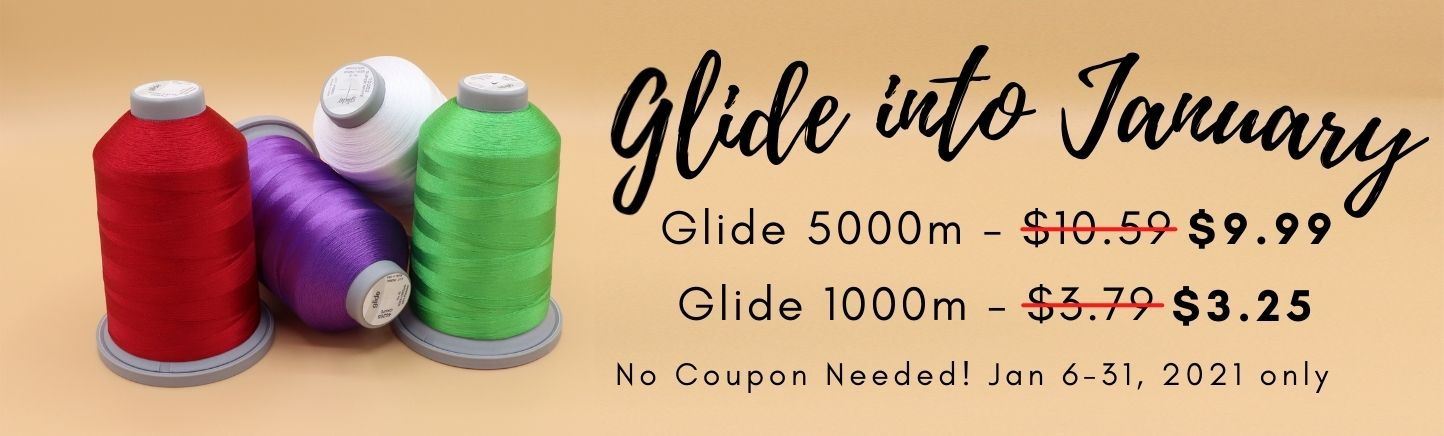 Glide into January Sale at Quilted Joy