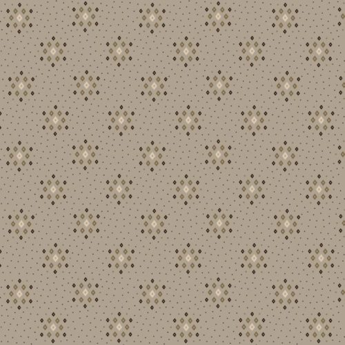 """Parlor Pretties 108"""" Wide Grey Diamond Geometric Wide Backing Fabric by Kim Diehl, available at Quilted Joy"""