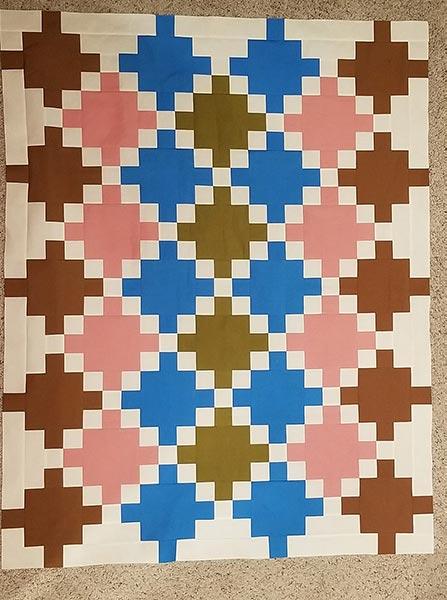Cheri's Celtic Crossing quilt