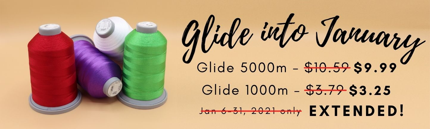 Glide into January Sale Extended, only at Quilted Joy