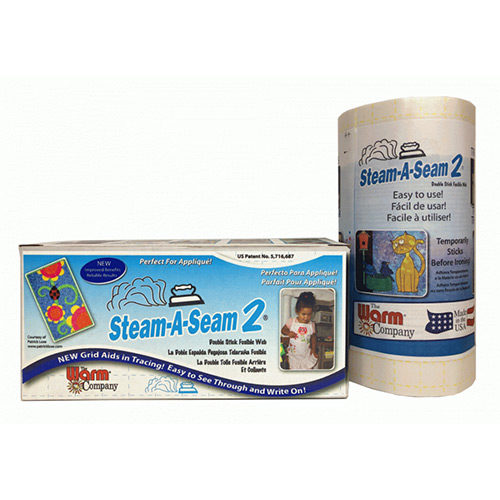 """Steam A Seam 2 12"""" Width lightweight fusible interfacing, available at Quilted Joy"""