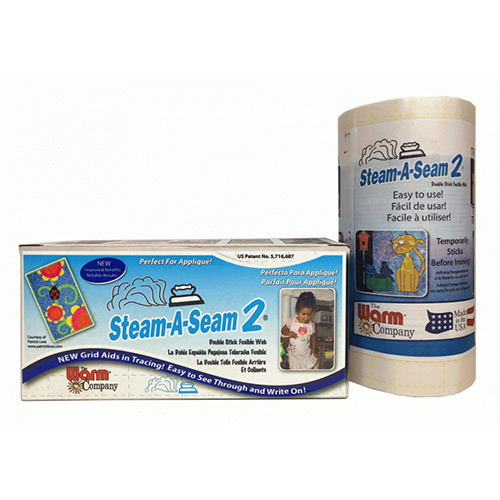"Steam A Seam 2 12"" Width lightweight fusible interfacing, available at Quilted Joy"