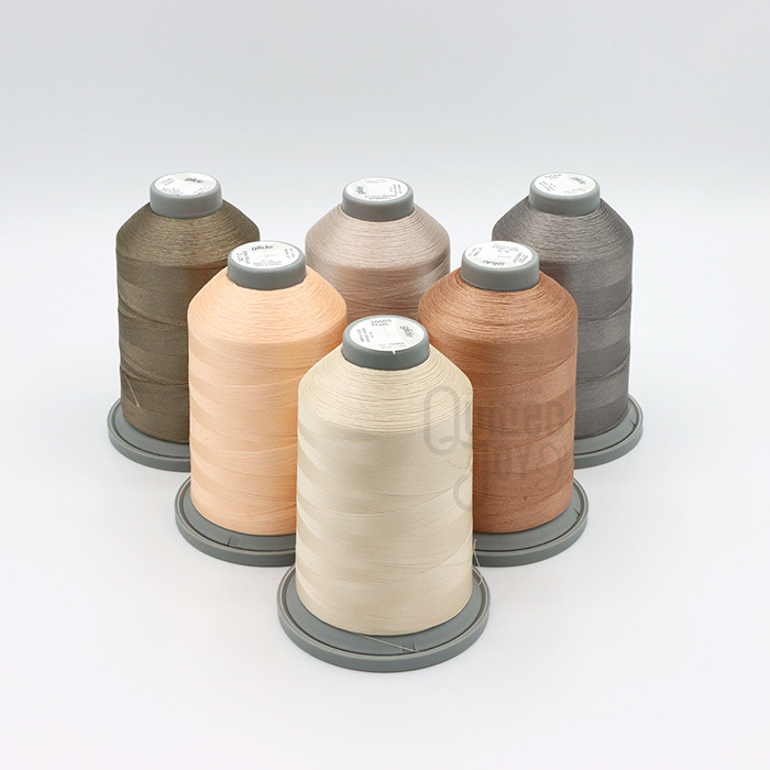 Glide New Neutrals Thread Pack exclusively available at Quilted Joy