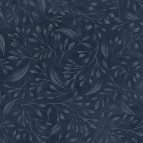 """Alessia - Navy 108"""" Wide Quilt Back Available at Quilted Joy"""