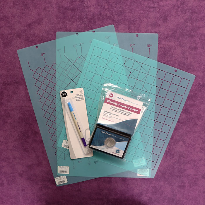 Beginner Grid Quilting Starter Kit from Quilted Joy