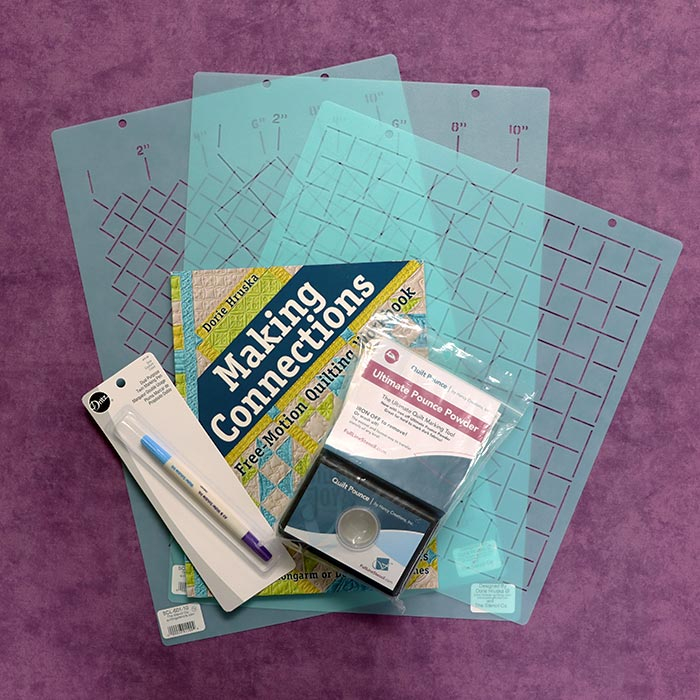 Deluxe Grid Quilting Starter Kit from Quilted Joy