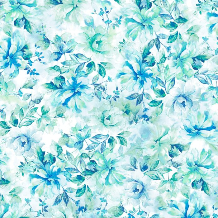 """Emma - Teal 108"""" Wide Quilt Back Available at Quilted Joy"""