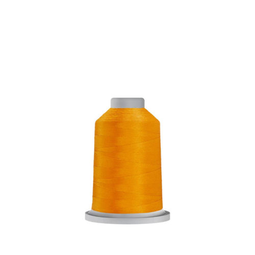 Glide Bright Gold - 410.80137 1000m mini cone available at Quilted Joy