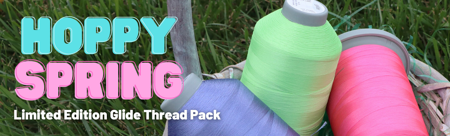 Hoppy Spring Limited Edition Glide Thread Pack, only available at Quilted Joy