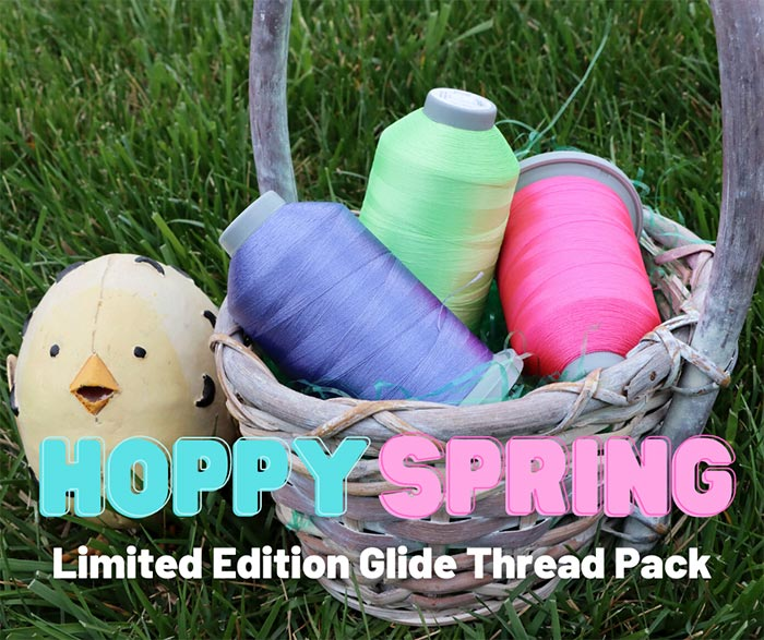 Hoppy Spring Limited Edition Glide Thread Pack