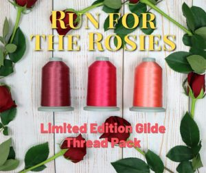 Run for the Rosies Glide Thread Pack - Quilted Joy