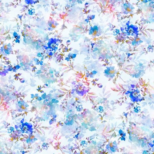 """Sophia - Blue 108"""" Wide Quilt Back Available at Quilted Joy"""
