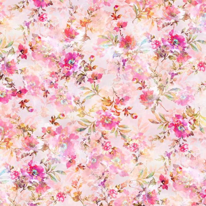 "Sophia - Pink 108"" Wide Quilt Back Available at Quilted Joy"
