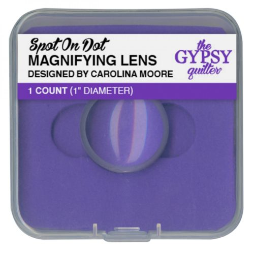 "Spot on Dot 1"" Magnifying Lens Available at Quilted Joy"