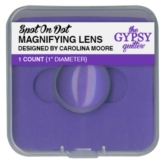 """Spot on Dot 1"""" Magnifying Lens Available at Quilted Joy"""