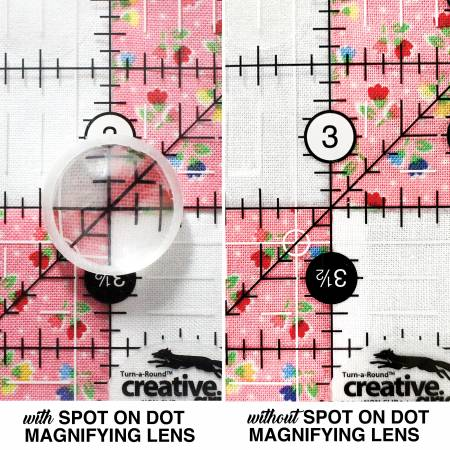 Spot on Dot Magnifying Lens Available at Quilted Joy