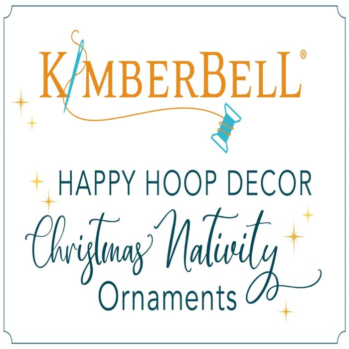 Kimberbell's Christmas Nativity Ornament Collection Coordinating Embroidery Thread kit, available at Quilted Joy