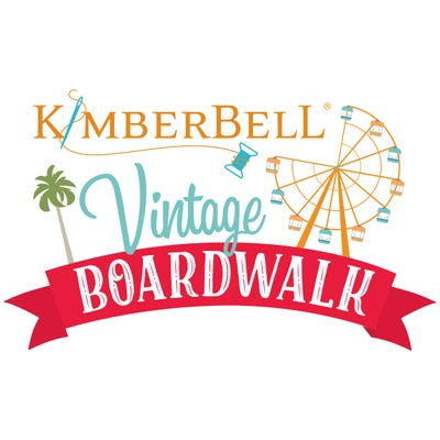 Kimberbell's Vintage Boardwalk Collection Coordinating Embroidery Thread kit, available at Quilted Joy