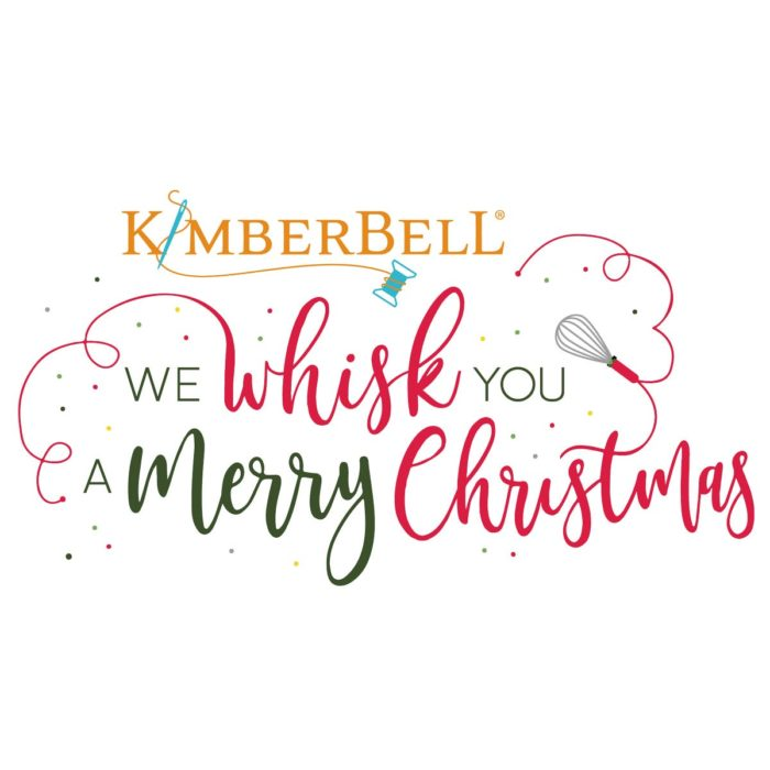 Kimberbell's We Whisk You a Merry Christmas Coordinating Embroidery Thread kit, available at Quilted Joy