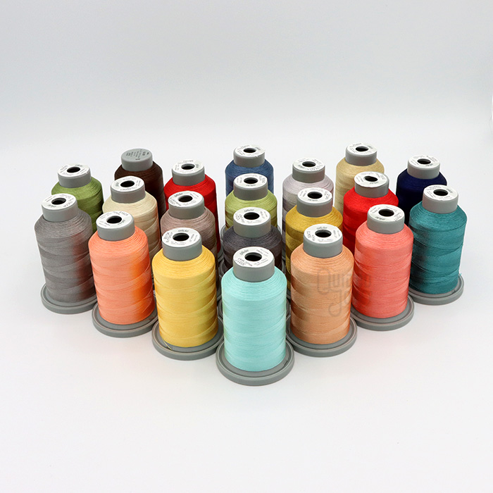 Kimberbell's Make Yourself at Home Collection Coordinating Embroidery Thread kit, available at Quilted Joy