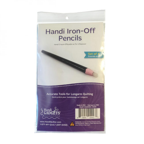 Handi Iron Off Pencils Available at Quilted Joy