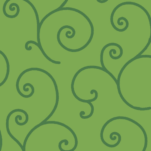 """Kimberbell Scroll - Green 108"""" Wide Quilt Back Available at Quilted Joy"""