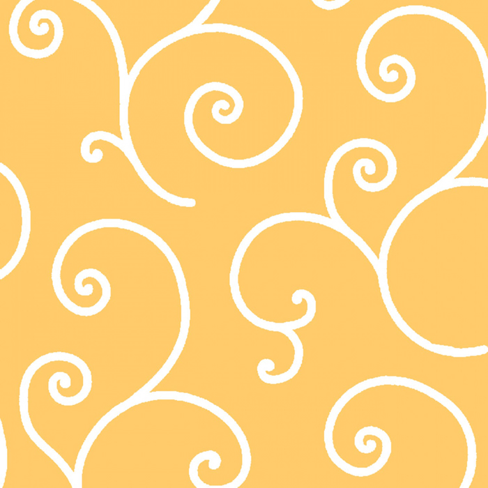 """Kimberbell Scroll - Yellow 108"""" Wide Quilt Back Available at Quilted Joy"""