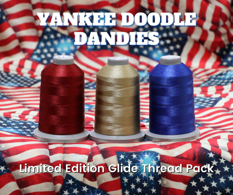Yankee Doodle Dandies Limited Edition Glide Thread Pack - Exclusively available at Quilted Joy