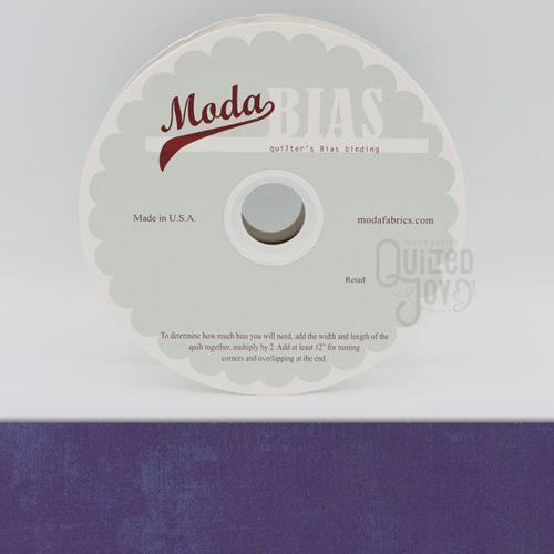 Grunge Quilter's Bias Binding - Purple 40 Yards