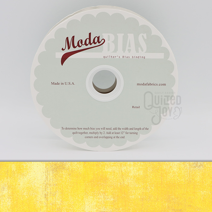 Grunge Quilter's Bias Binding - Sunflower 40 Yards