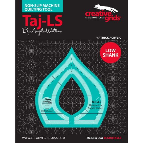 Image of Taj Low Shank Machine Quilting Ruler Available at Quilted Joy