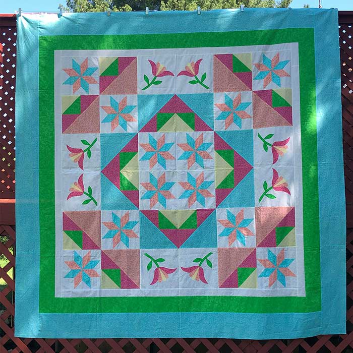 image of Whispering Tulip Quilt