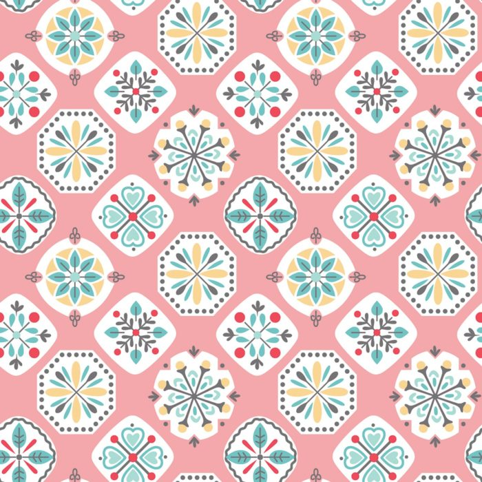 """Stitch - Coral 108"""" Wide Quilt Back Available at Quilted Joy"""