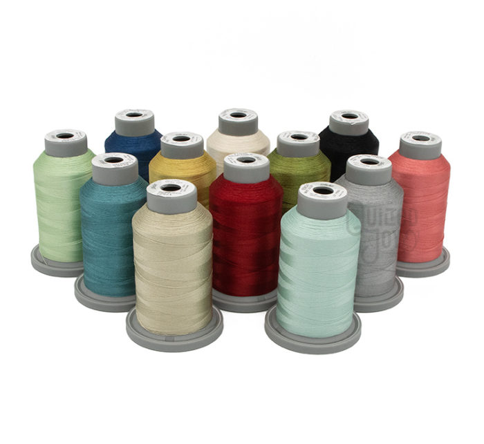 Kimberbell's Silky Solids Coordinating Embroidery Thread kit, available at Quilted Joy