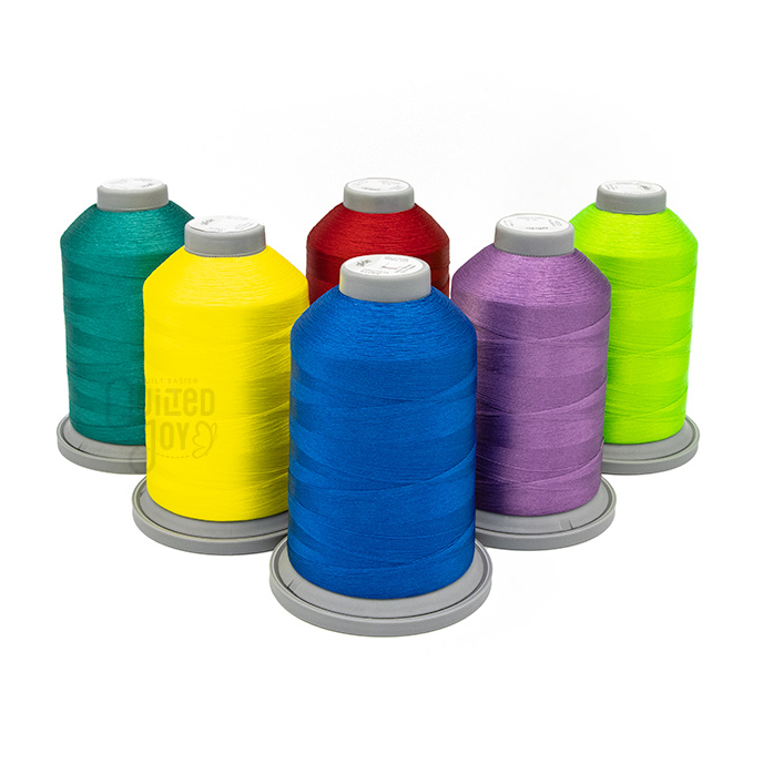 Glide Toddler Thread Pack 5000m King Cones Available at Quilted Joy