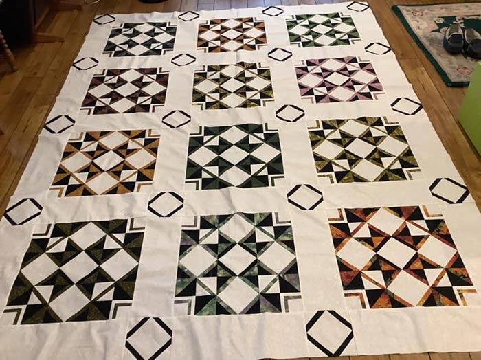 image of Love Shack Quilts Mystery Quilt