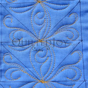 Avoiding the Biggest Blunders of Longarm Quilting, machine quilting class taught by Angela Huffman