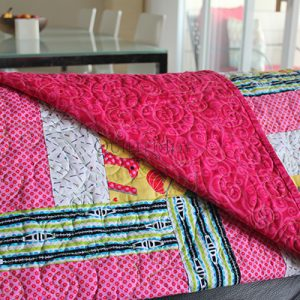 How the Heck Should I Quilt This?, machine quilting class taught by Angela Huffman